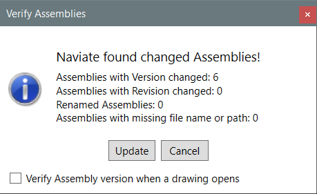 21 APR Control your corridors with Naviate Infrastructure publish assembly verify note