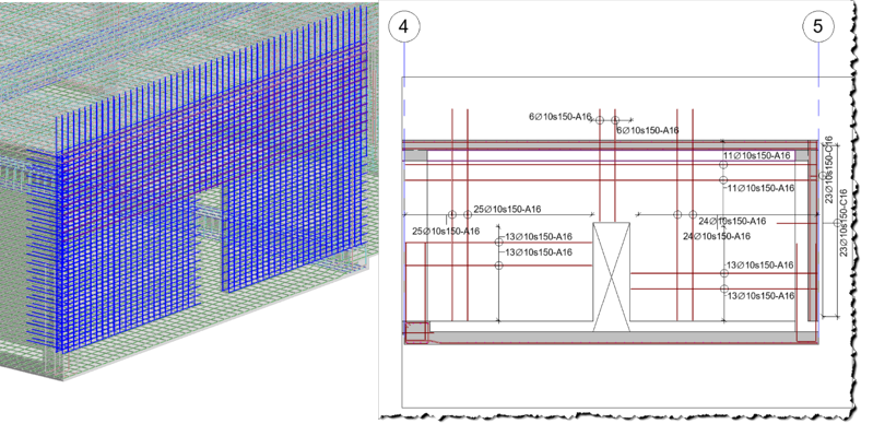 20 Q4 29Oct Blog 3D reinforcement Structure Rebar - Wall corners