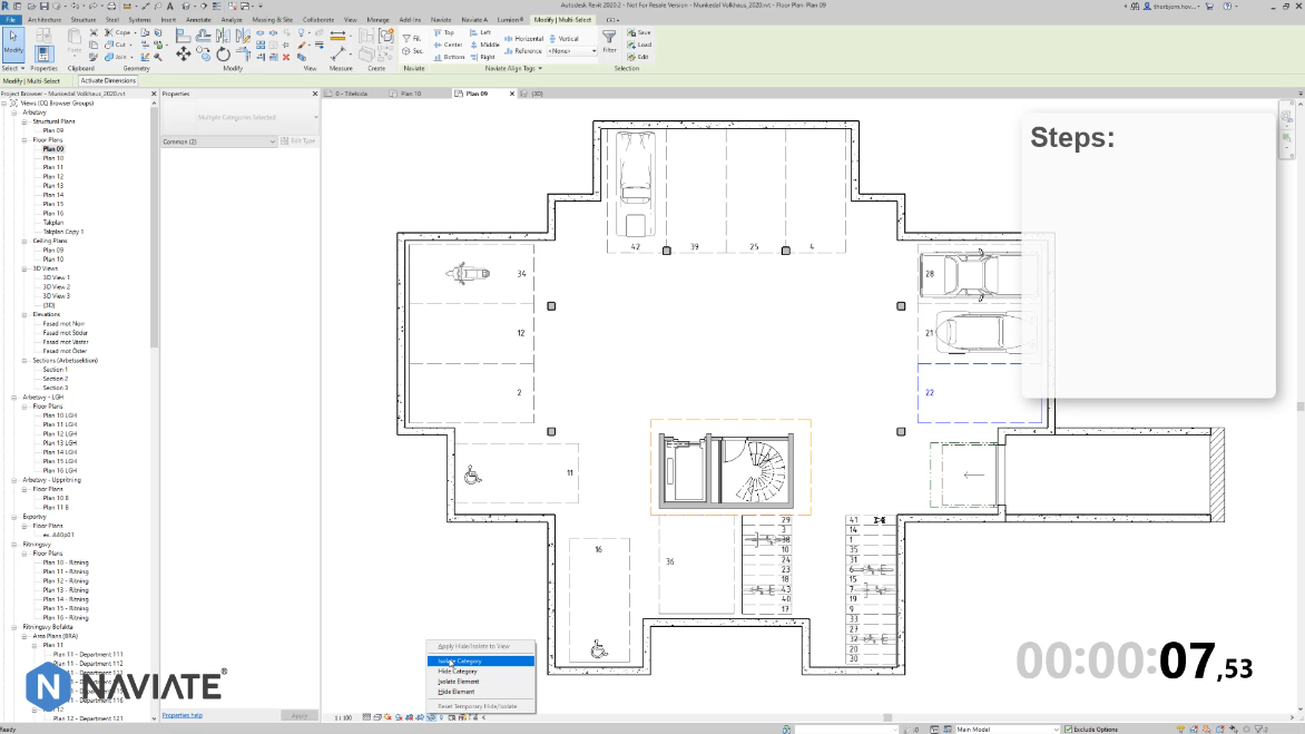 How to quickly Renumber Elements in Revit